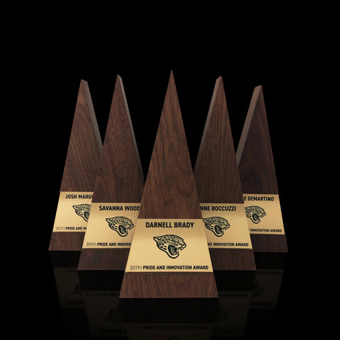 Unique Engraved Personalized Sports Trophy Award | Metal Wood