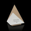 Unique Modern Designer Pyramid Trophy handmade from Wood