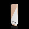 Triangular Maple Wood Awards for Employee Recognition
