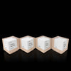 Wooden Cube Award Suite Collection for Employee Recognition by Trophyology