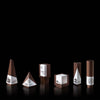 Modern Architect-Designed Geometric Award and Trophy Suite Geometria in Walnut