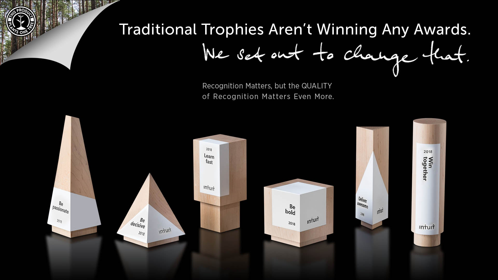 Elegant Executive Awards for Team Recognition