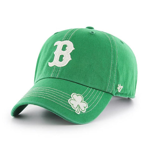 Boston Red Sox MLB '47 St Patty's Fatty Clean Up Slouch Hat Cap Adult Adjustable