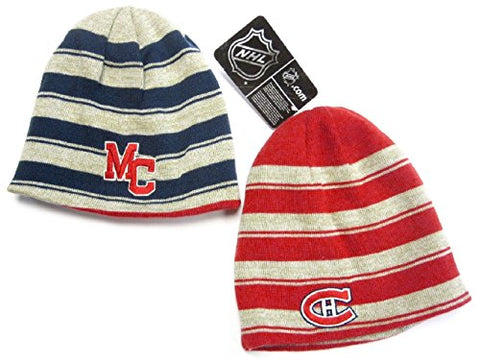 dc8b1a991d Montreal Canadiens Vintage Reversible Knit Hat
