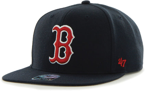 Boston Red Sox MLB '47 Sure Shot Captain Navy Hat Cap Adult Adjustable Snapback