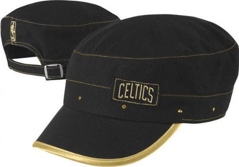 Boston Celtics -Women's- Gold Collection Military Cap
