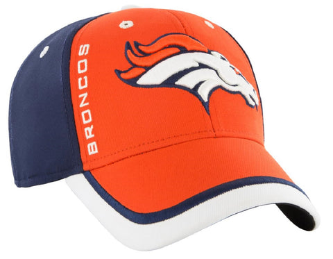 Denver Broncos NFL '47 Crash Line Contender Hat Cap Flex Stretch Fit Adult OSFA