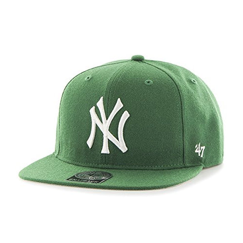 '47 New York Yankees Kelly Sure Shot Captain Wool Snapback Hat
