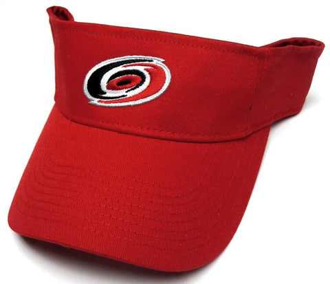 Carolina Hurricanes NHL Reebok Red Golf Sun Visor Hat Cap Adult Men's Adjustable