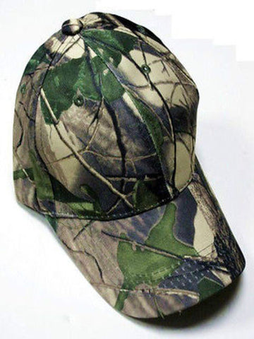 Camouflage Camo Hardwoods RealTree Green Hat Cap Hunting Fishing Hiking Camping