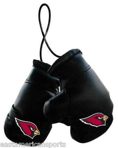 Arizona Cardinals NFL Boxing Gloves Car Auto Decoration Mirror Hanging Ornament