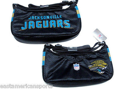 Jacksonville Jaguars NFL Jersey Purse Cat Face Womens Tote Case Bag Littlearth