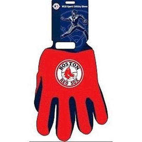 Boston Red Sox MLB Utility Gloves Football Work Grip
