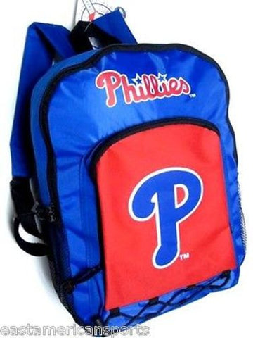 Philadelphia Phillies MLB Backpack School Book Bag Travel Gym Case Concept One