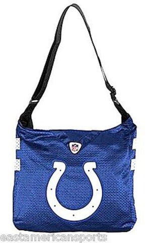 Indianapolis Colts MVP Jersey Messenger Purse Tote Tailgate Bag Handbag Womens