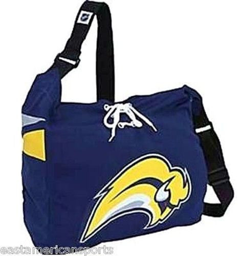 5f58698d1 Buffalo Sabres MVP NHL Jersey Messenger Purse Tote Bag Shoelace Books –  East American Sports LLC