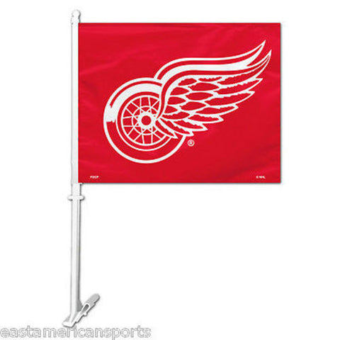 Detroit Red Wings NHL Car Flag Window Pole Banner Auto Truck Hockey Fan Tailgate