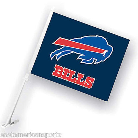 Buffalo Bills NFL Car Flag Window Pole Banner Auto Truck Football Fan Tailgate