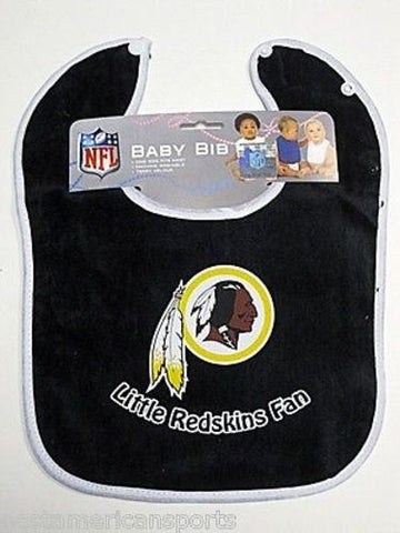 Washington Redskins NFL Baby Boys Snap Bib Infant Toddler Newborn Little Fan
