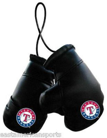 Texas Rangers MLB Boxing Gloves Car Decoration Logo Mirror Hanging Ornament Auto