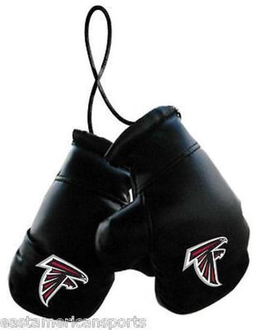 Atlanta Falcons NFL Boxing Gloves Car Auto Logo Decoration Mirror Hang Ornament
