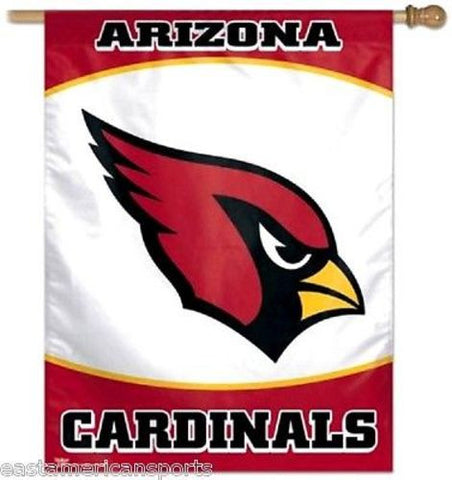 Arizona Cardinals NFL 27 x 37 Vertical Hanging Wall Flag Logo Banner Bar Room