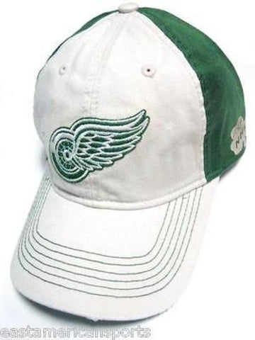 Detroit Red Wings NHL Reebok Slouch Hat Cap Green Irish Clover Lucky Shamrock
