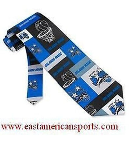 Orlando Magic NBA Tie Woven Block & Play Basketball Suit Dress Tie 3.75 x 56