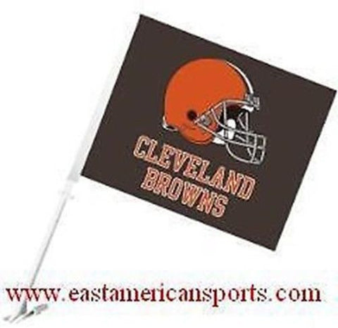 Cleveland Browns NFL Car Flag Window Banner Auto Truck Fan Automotive