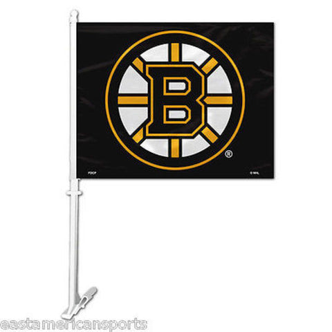 Boston Bruins NHL Car Flag Window Pole Banner Auto Truck Hockey Fan Tailgate