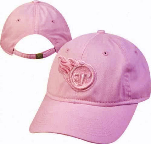 Tennessee Titans NFL Reebok Women's Pink Slouch Hat Adjustable