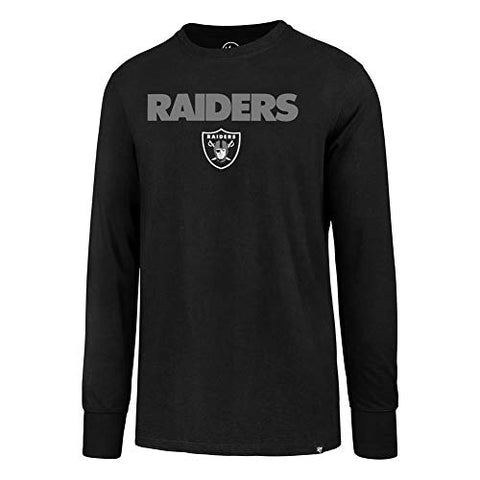 '47 Oakland Raiders Long Sleeve Tee Pregame Super Rival Tee