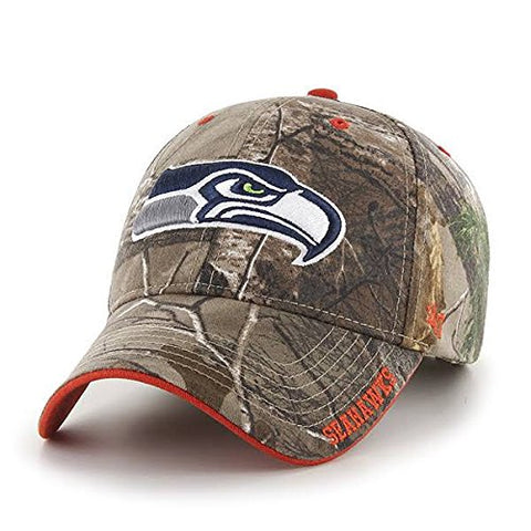 '47 Brand Seattle Seahawks Realteree Frost Camo Hat - Adjustable