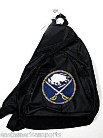 Buffalo Sabres NHL Black Book Bag Camera Back Pack School Slingshot Hockey Case