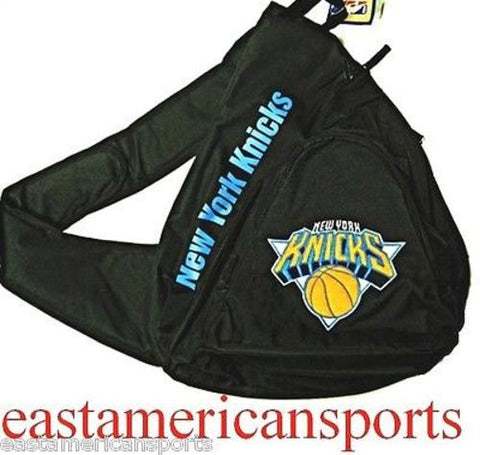 New York Knicks NBA Black Book Bag Camera Back Pack School Slingshot Logo Case