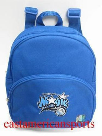 Orlando Magic NBA Blue Mini Book Bag Back Pack Gym School Sport Case Kids Adults