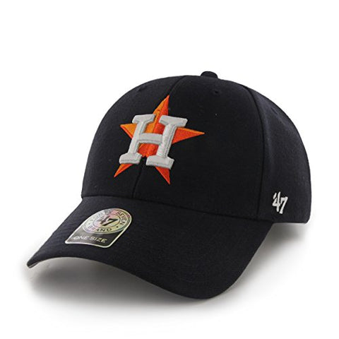 adbf8ad9edbf8 MLB Houston Astros Juke MVP Adjustable Hat, One Size, Navy