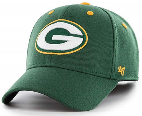 Green Bay Packers NFL '47 Kickoff Contender Hat Cap Adult Men's Stretch Fit L-XL