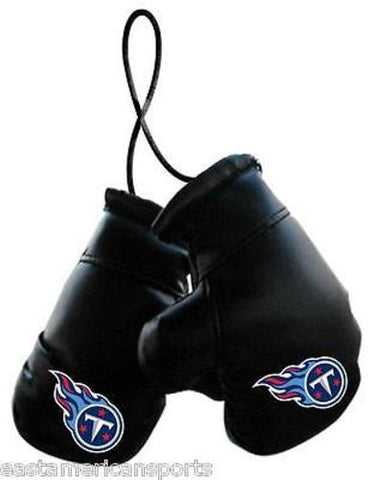 Tennessee Titans NFL Boxing Gloves Car Auto Logo Decoration Mirror Hang Ornament