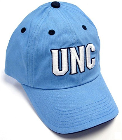 Twins North Carolina Tar Heels NCAA Light Blue UNC Logo Slouch Relaxed Hat Cap Adult Men's Adjustable