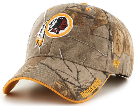 Washington Redskins NFL '47 MVP Realtree Frost Camo Hat Cap Adult Men's Adjustable