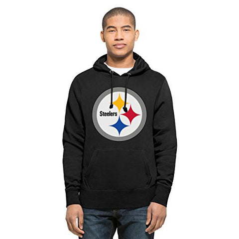 '47 NFL Men's Headline Pullover Hood, Xx-Large, Jet Black