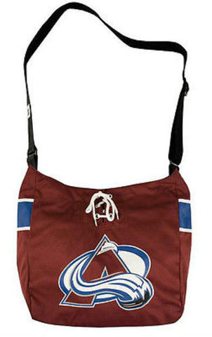 Colorado Avalanche NHL MVP Jersey Messenger Tote Bag Purse Case Littlearth