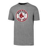 '47 Boston Red Sox MLB Brand Slate Grey Knockaround Club Tee Gray T Shirt Adult Men's