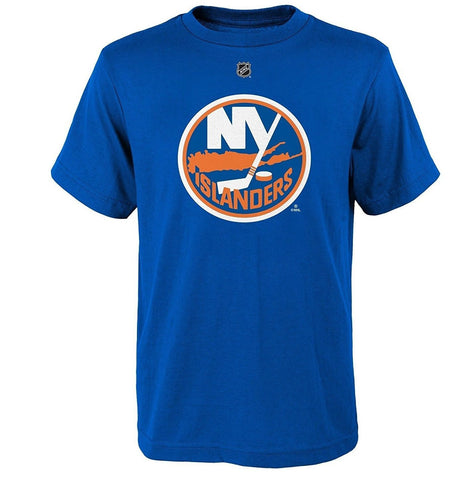 New York Islanders NHL Reebok Center Ice Blue Short Sleeve T-Shirt Men's S