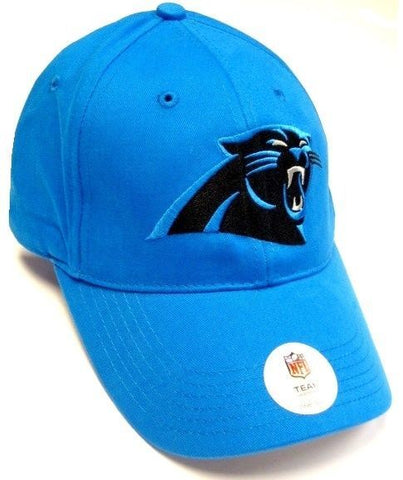 Carolina Panthers NFL Basic Teal Blue Hat Cap Team Apparel Adult Adjustable