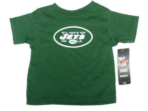 New York Jets NFL Reebok Baby Infant Newborn Green T Shirt NY Logo Kids 18M
