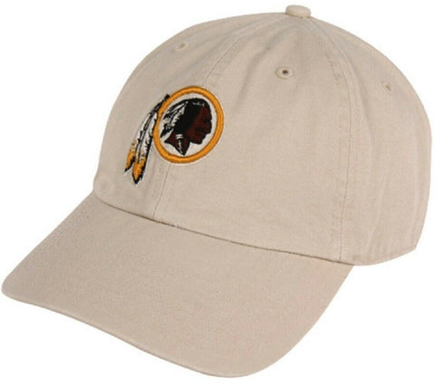 Washington Redskins NFL Team Apparel Khaki Tan Slouch Hat Cap Adult Adjustable