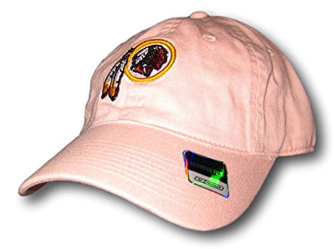 Washington Redskins Light Pink Women's Adjustable Hat Cap