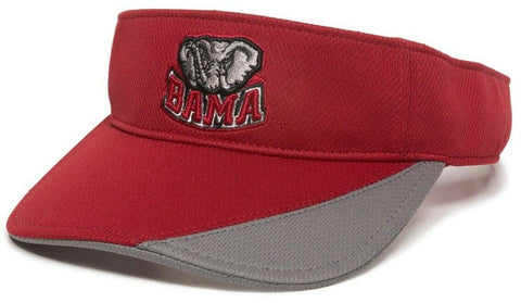 Alabama Crimson Tide NCAA OC Sports Golf Sun Visor Hat Cap Adult Mens Adjustable